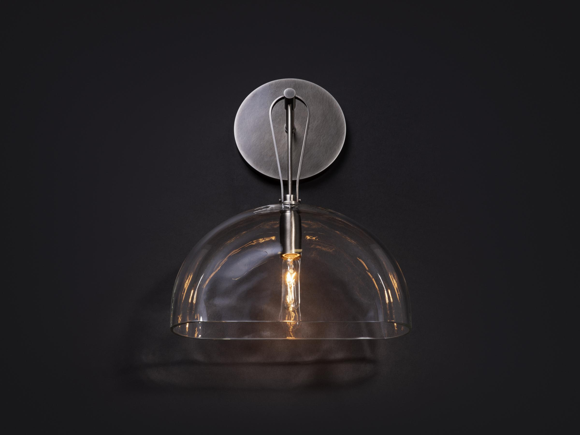 Crescent Sconce