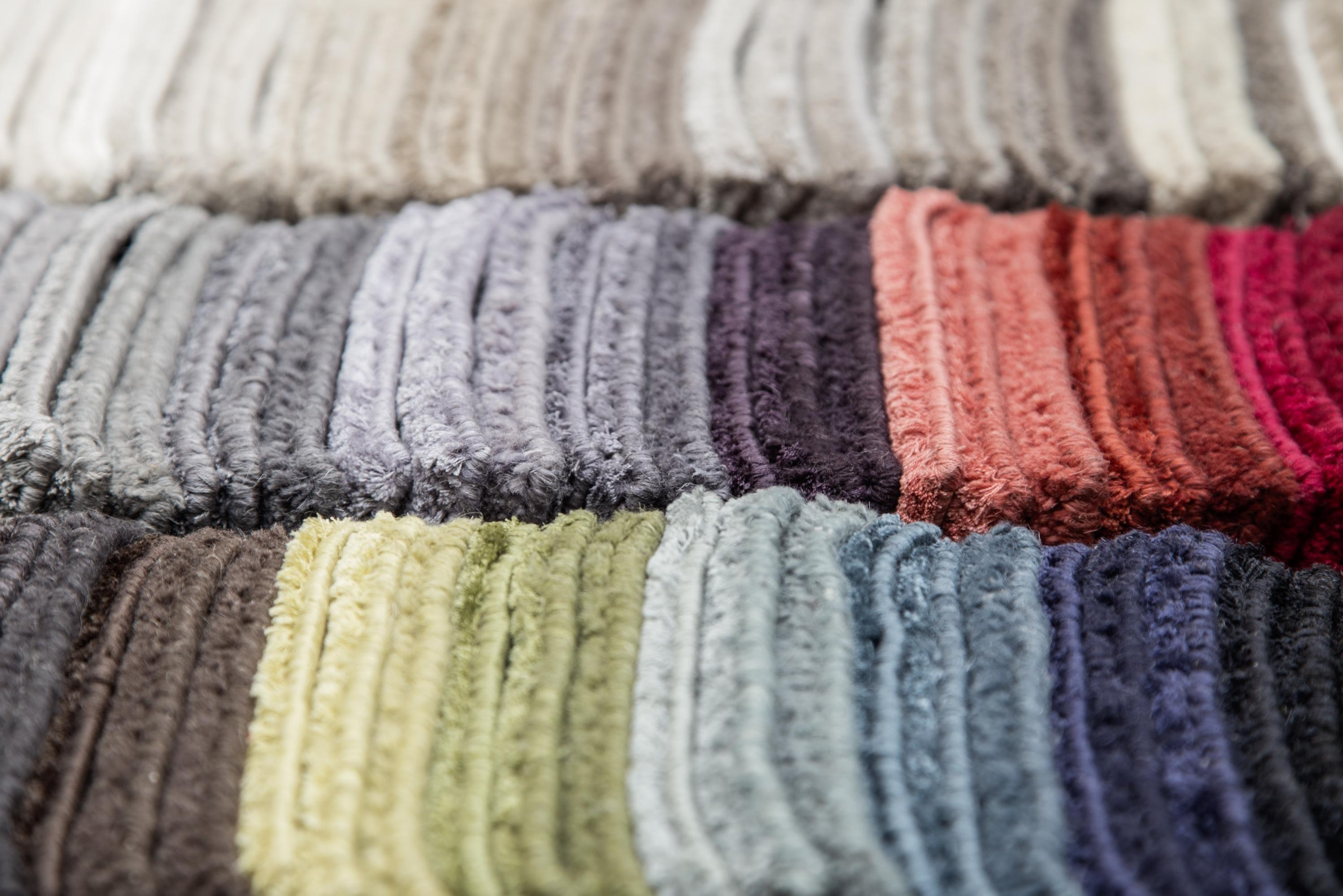 HOLLY HUNT Beyond Borders Rug Color Samples