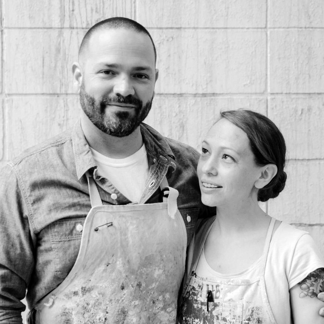 ASSEMBLAGE Wallcovering Founders Heidi and Christian Batteau