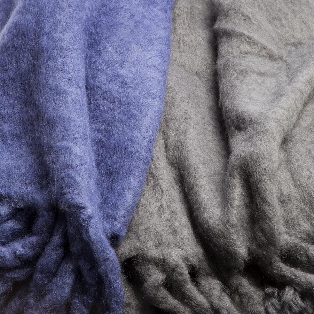 HOLLY HUNT Accessories Mohair Throws