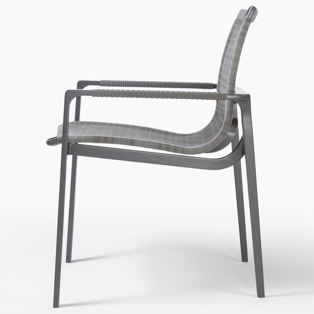 HOLLY HUNT Outdoor Keel Dining Chair