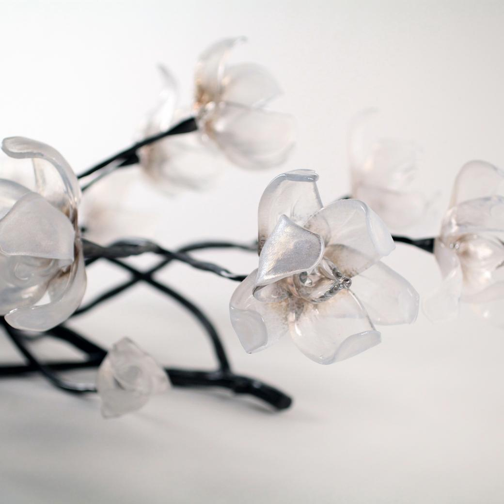 HOLLY HUNT Accessories Design Elizabeth Lyons Branching Magnolia