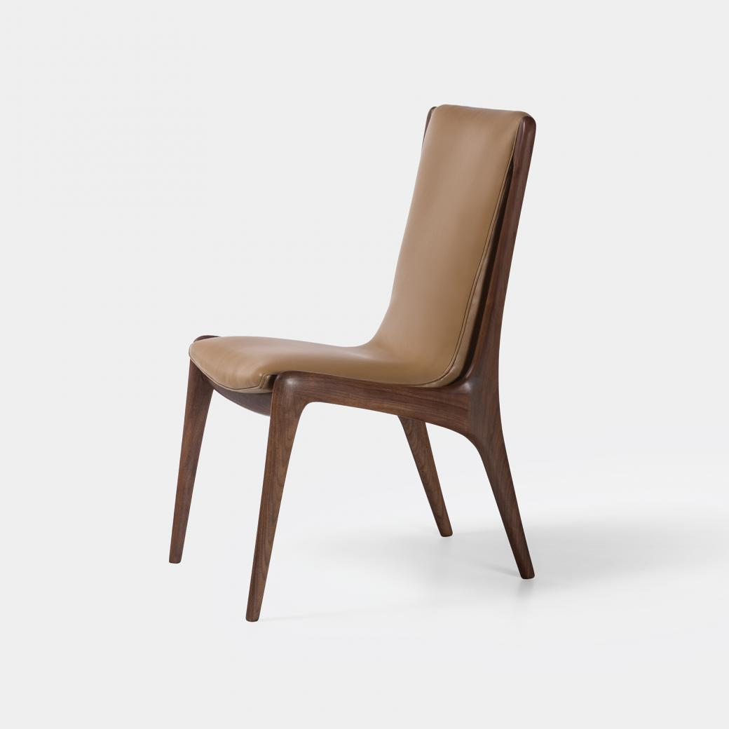 Sculpted Sling Dining Side Chair