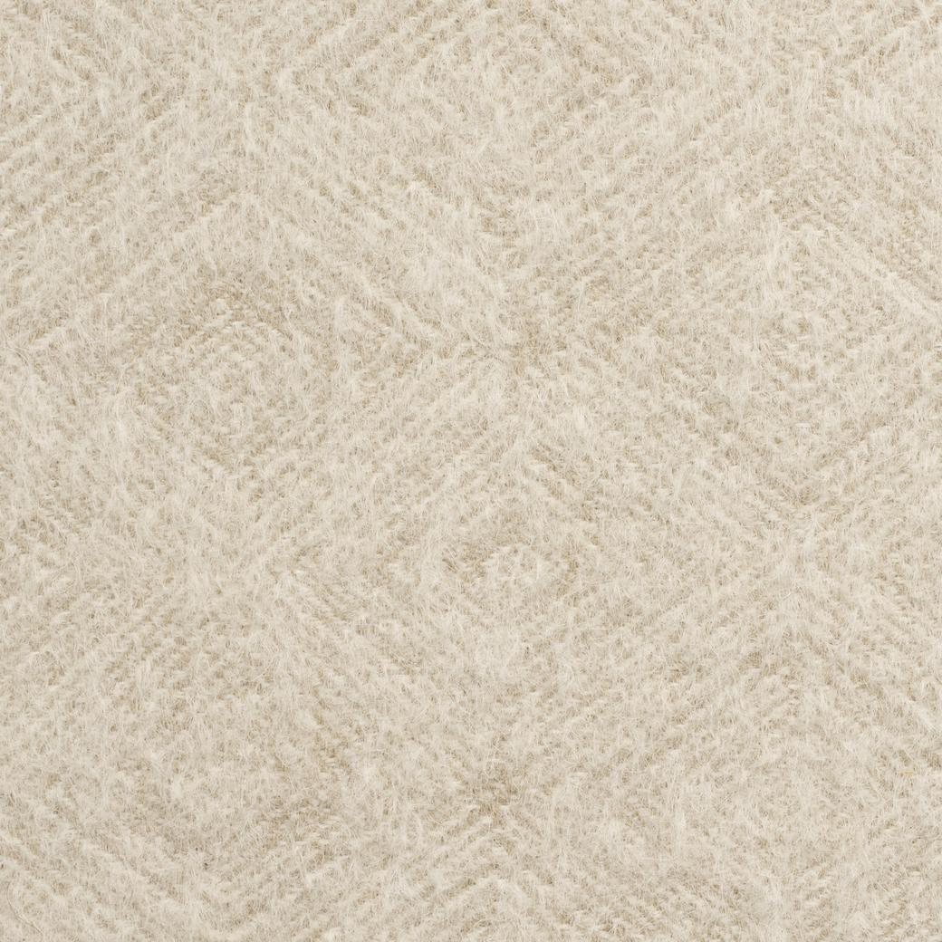 Geo Mohair Champagne Champagne