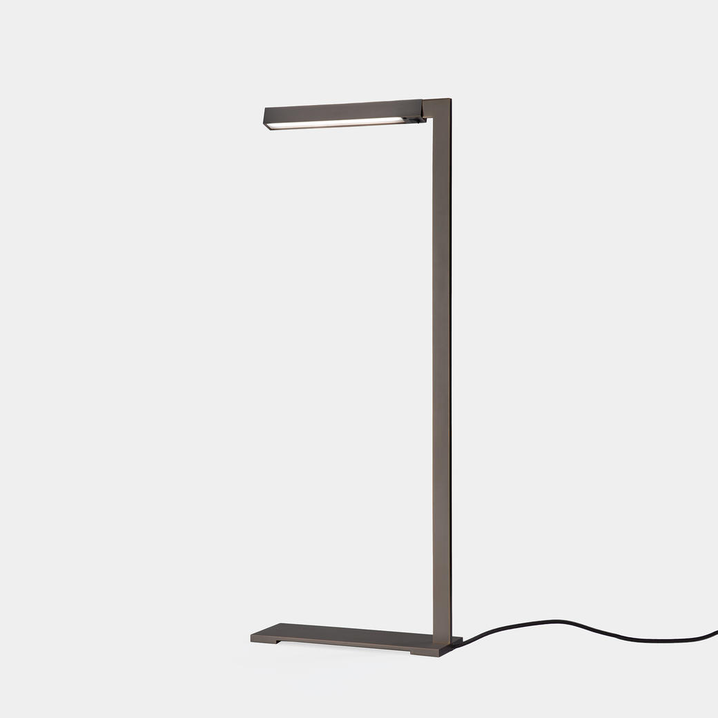 Bar Reading Lamp Medium Bronze Patina