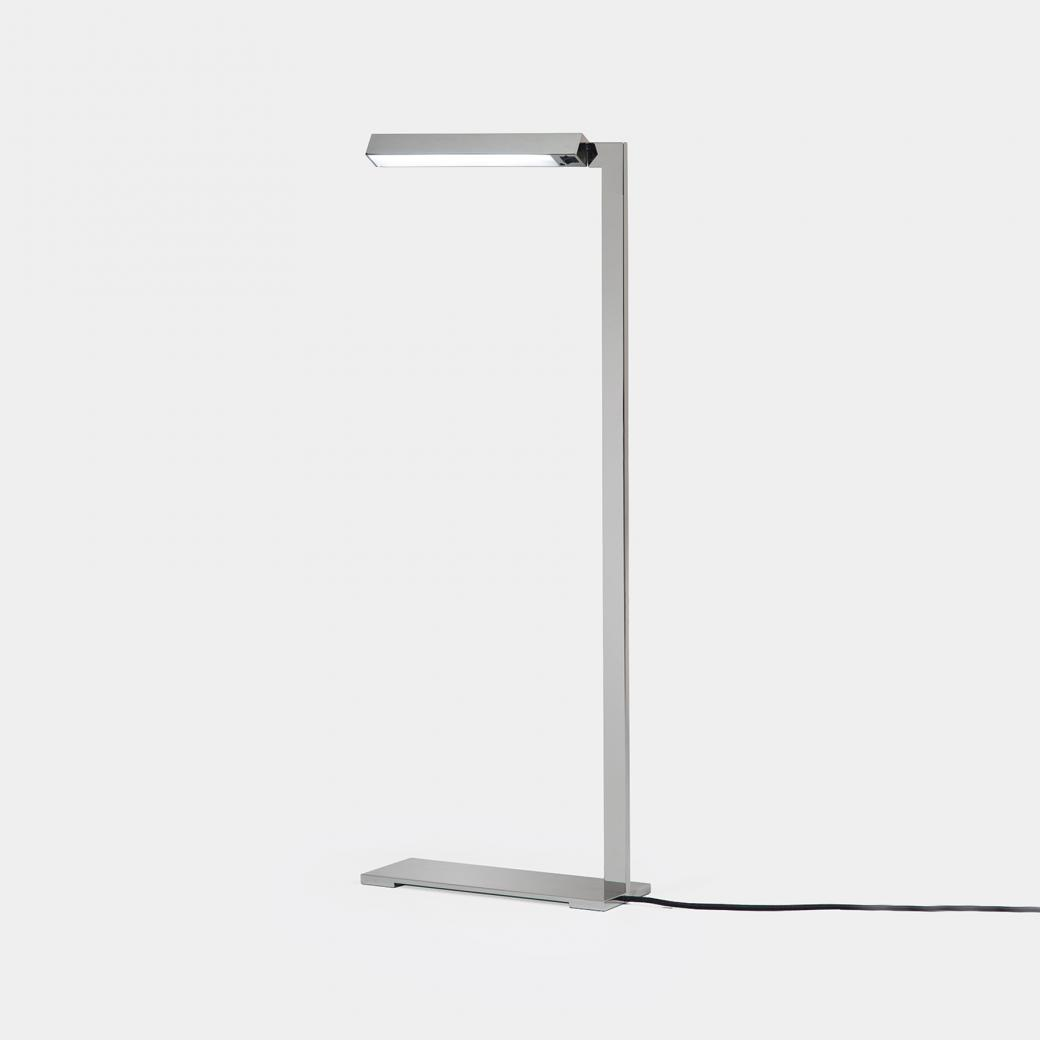Bar Reading Lamp Polished Nickel