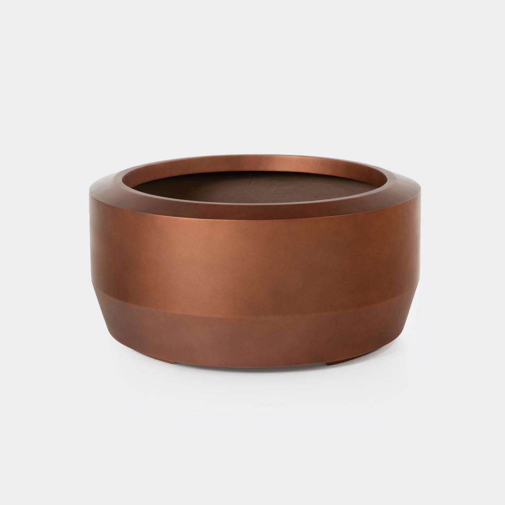 Fugu Planter Sz 2, Copper