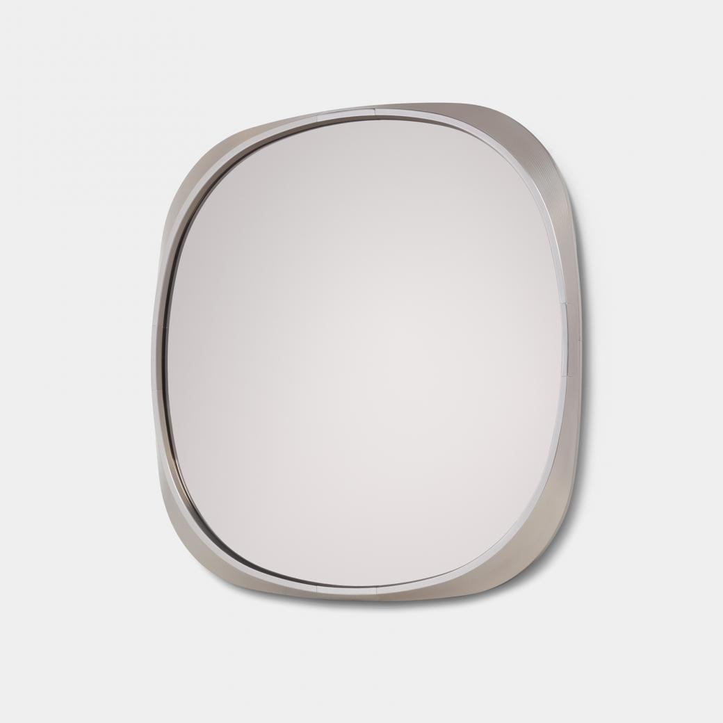 Squircle Mirror Paris Polished Frame, Bronze Smoked Mirror