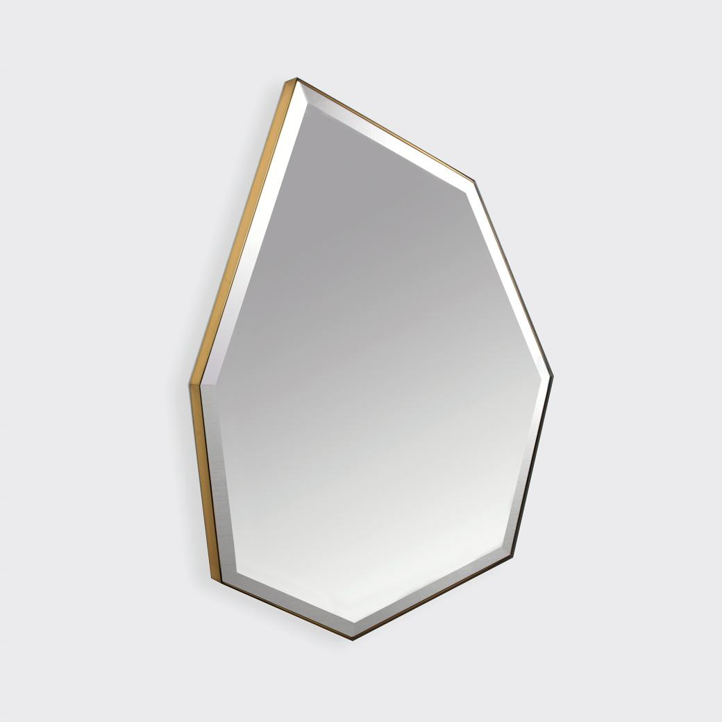 Thetis Mirror Polished brass (No. 54)