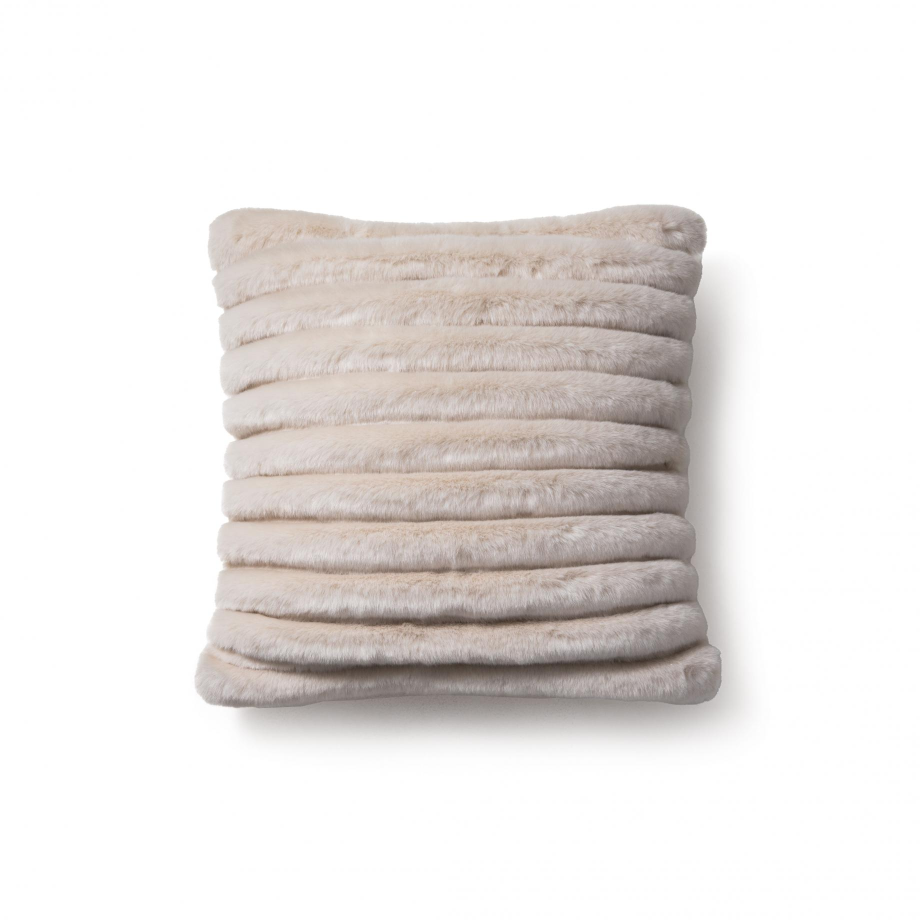 Faux Channeled Pillow