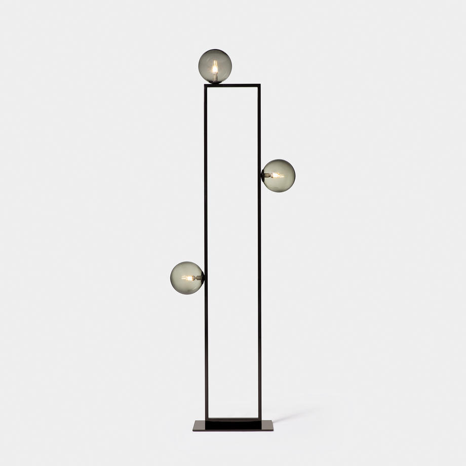 Mondrian Glass Floor Lamp