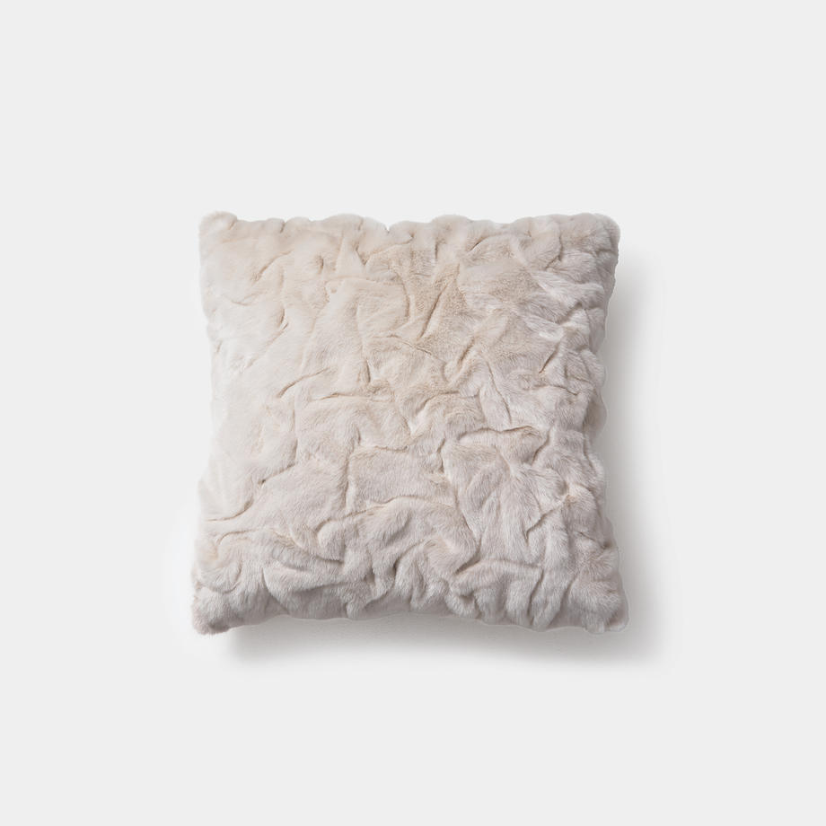 Faux Pleated Pillow