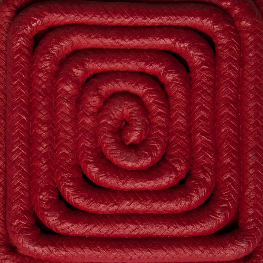 Carmin Red Cotton Cord