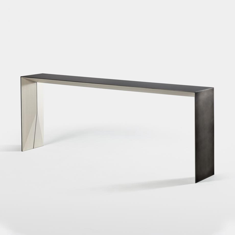 Brimstone Console Oak Alpine Base, Brimstone Metal Structure