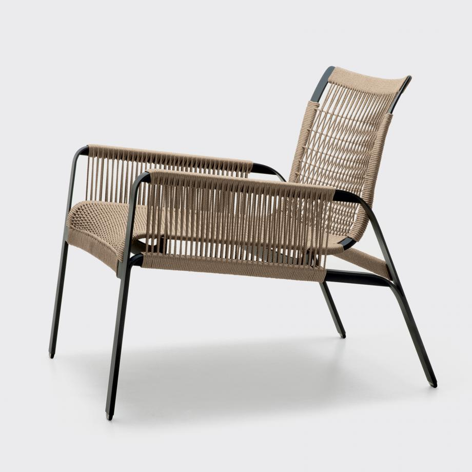 Caracal Lounge Chair, Fawn