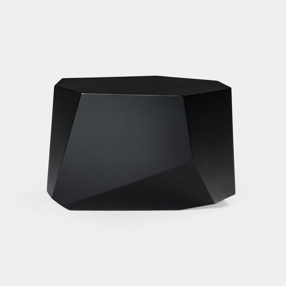 Cachalot Side Table, Abyss Black
