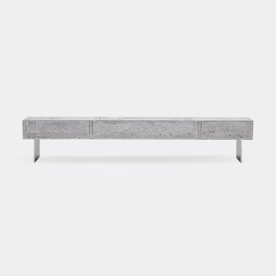Concrete Blok Bench