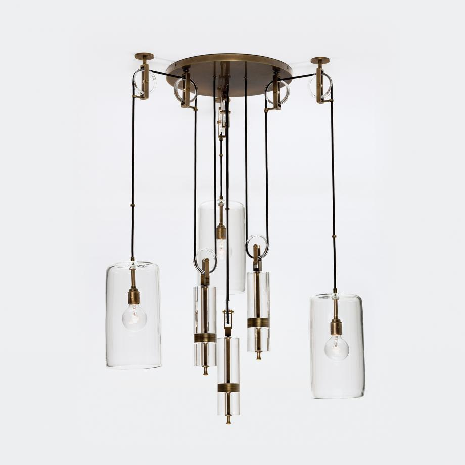 Counterweight Chandelier