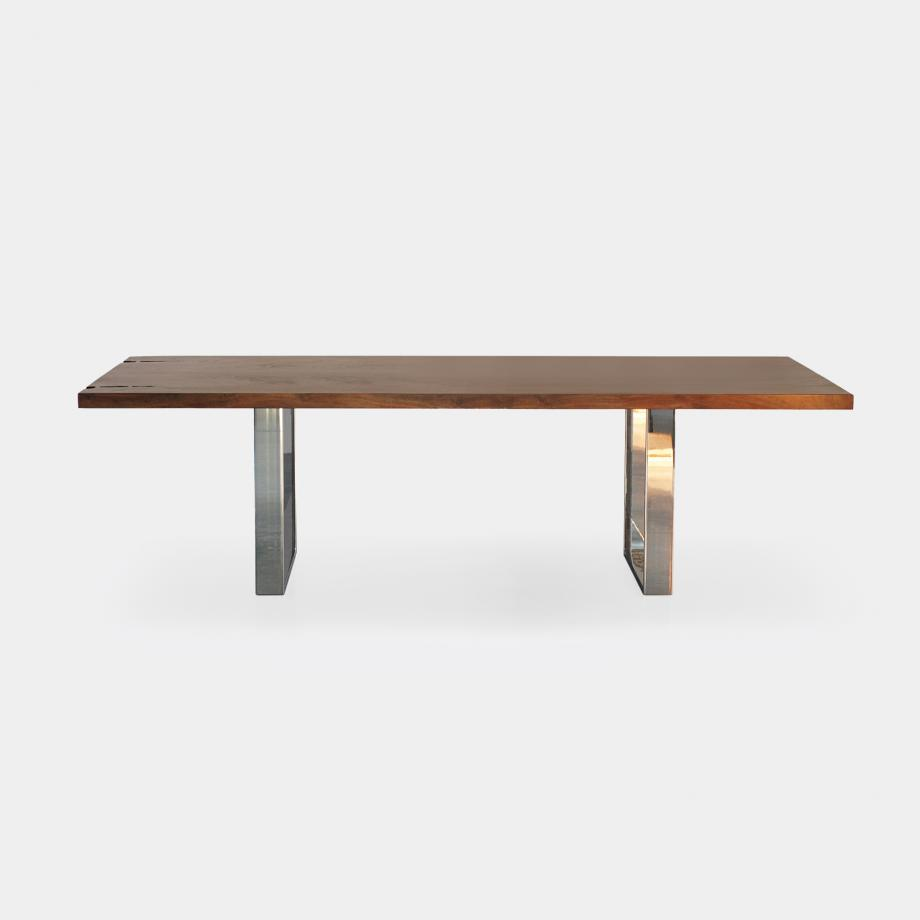 Square Base Dining Table