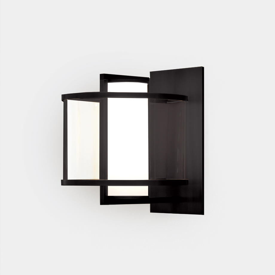 Klos Sconce Sz 4 (10.5H), Steel-Dark Patina
