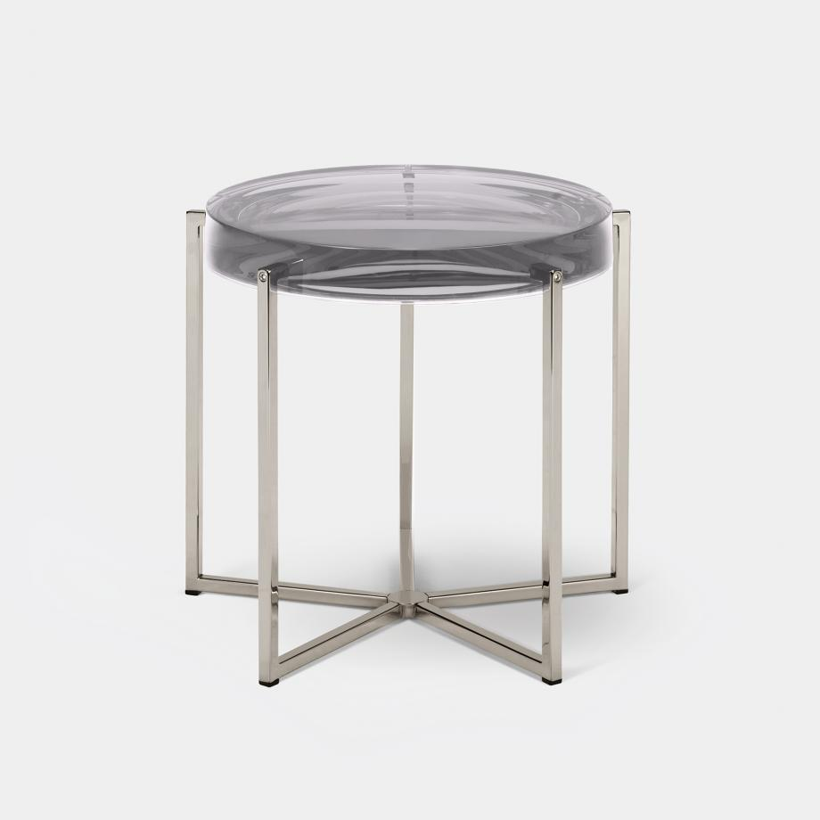 Lens Table Sz 2, Nickel Base, Clear Top