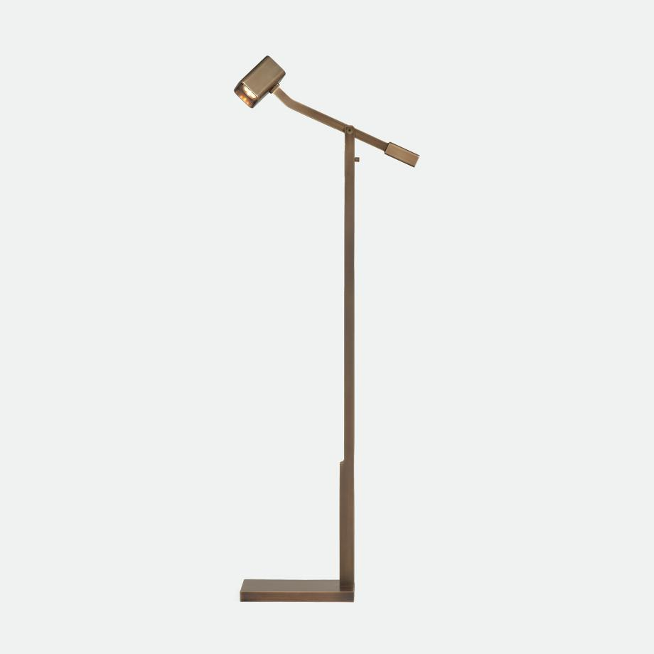 Oscar Reading Lamp Golden Bronze Patina