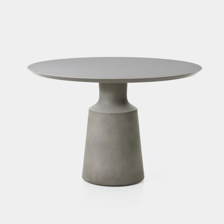 Peso Dining Table - Outdoor, Sz 1, Belgium Fog Top, Sand Grey Base